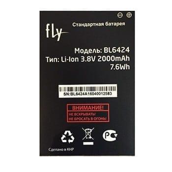 Аккумулятор Fly FS505 (BL6424)