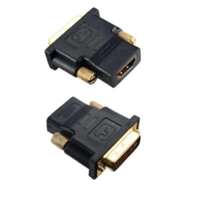 Переходник HDMI-DVI-D (гн/шт) Perfeo (A7004)