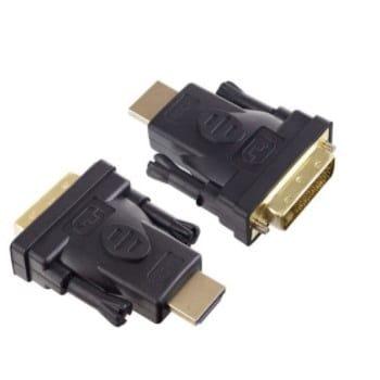 Переходник HDMI-DVI-D (шт/гн) Perfeo (A7017)