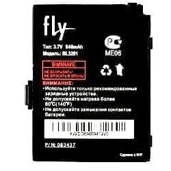 Аккумулятор Fly B600 /Лайт
