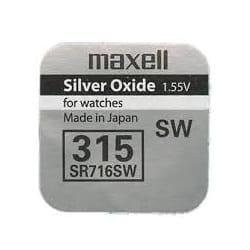 Эл/пит SR-716sw (315) Maxell 16361