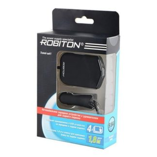 АЗУ USB Robiton Travel-set1 9.6Ah 4порта 14623