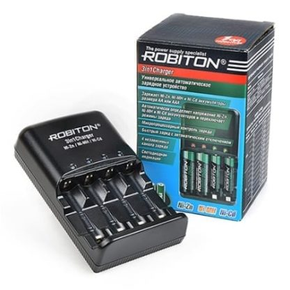 З/У Zn/Mh Robiton 3in1 Charger 15022