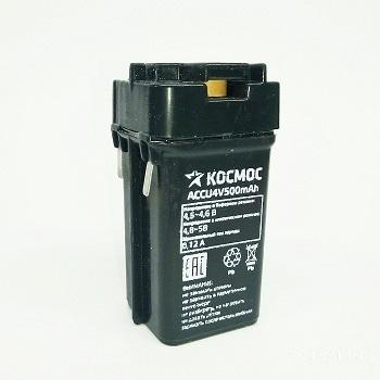 АКБ 4v-0.5Ah КОСМОС размер: 48x21x25 мм